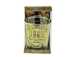 H H Metallics Kerze Zuhaus
