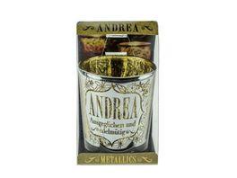 H H Metallics Kerze Andrea