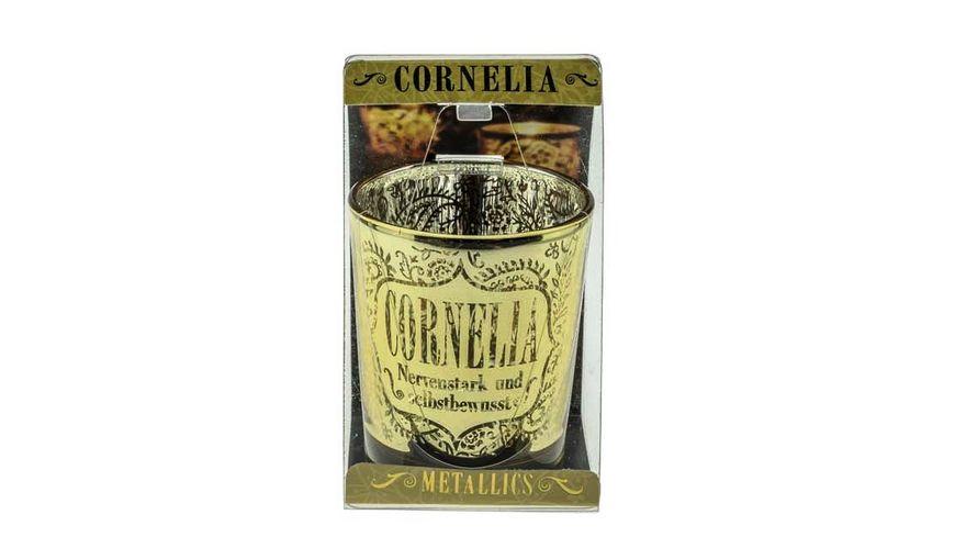 H H Metallics Kerze Cornelia