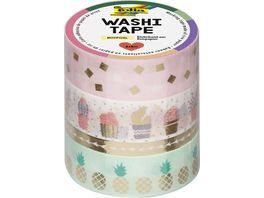 folia Washi Tape 4er Set Hotfoil gold