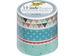 folia Washi Tape Pastell 4er Set