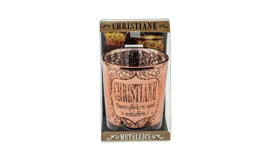 H H Metallics Kerze Christiane