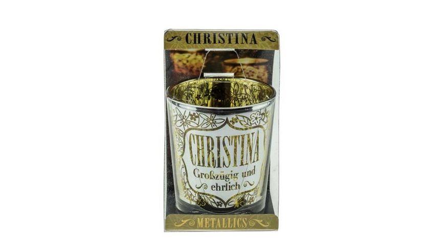 H H Metallics Kerze Christina
