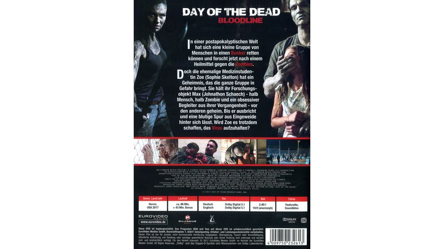 Day of the Dead Bloodline Uncut