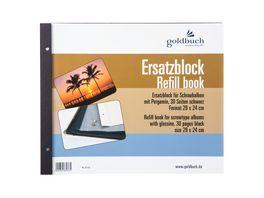 goldbuch Nachfuellsatz 29X24 cm schwarz