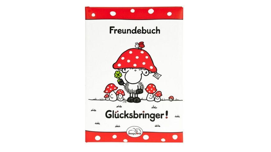Goldbuch Freundebuch Ganz viel Glueck