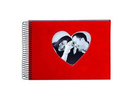 goldbuch Spiralalbum Rosso rotes Herz 17x23 cm