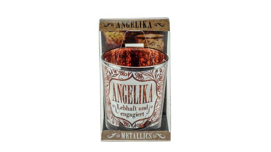 H H Metallics Kerze Angelika