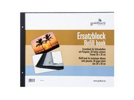 goldbuch Nachfuellsatz 38X30 cm schwarz