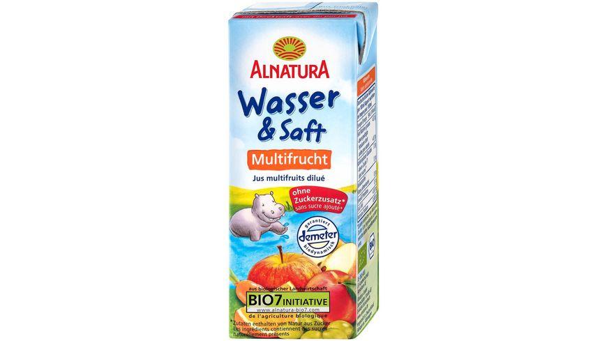 Alnatura Wasser Saft Multifrucht