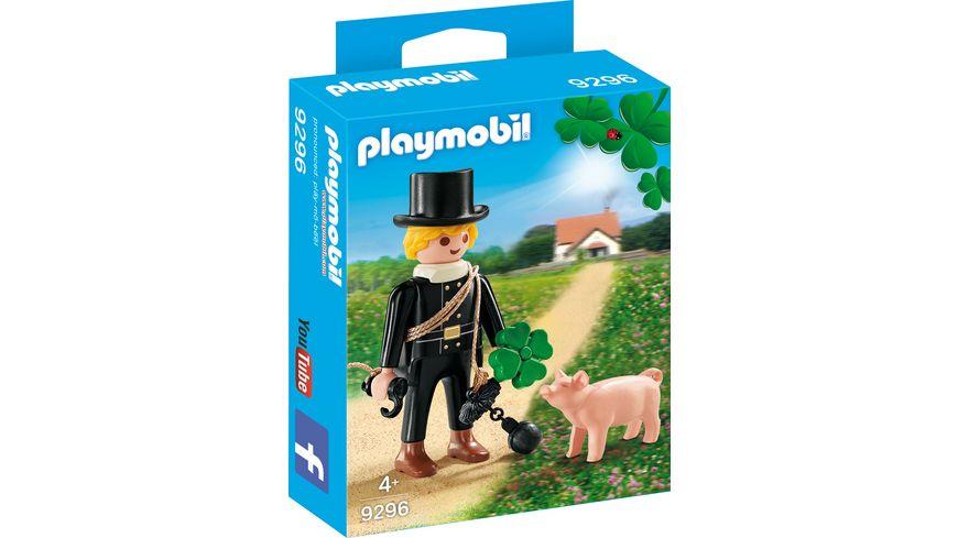 PLAYMOBIL 9296 Schornsteinfeger mit Gluecksschweinchen