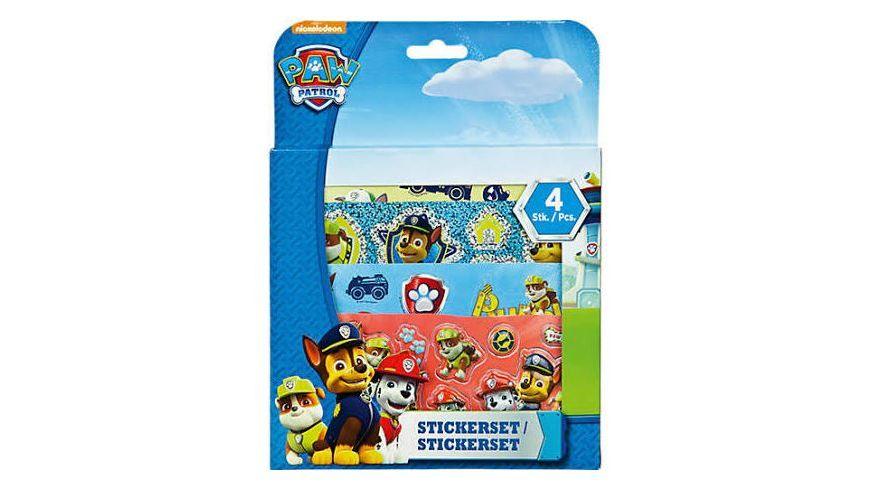 Undercover Paw Patrol Sticker Set 4 tlg