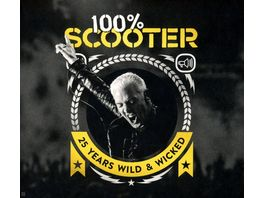 100 Scooter 25 Years Wild Wicked Ltd 5CD Digipak