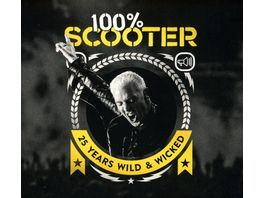 100 Scooter 25 Years Wild Wicked 3CD Digipak