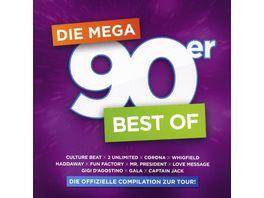 Mega 90er Best Of Offizielle Compilation z Tour