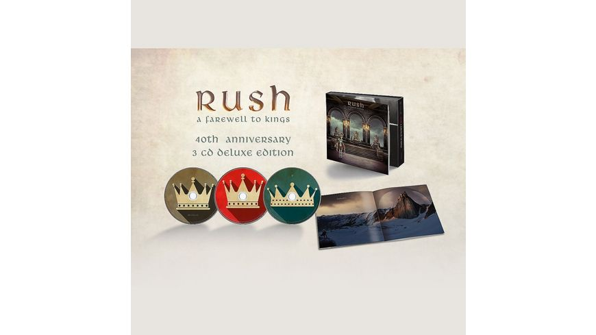 A Farewell To Kings Deluxe 3CD