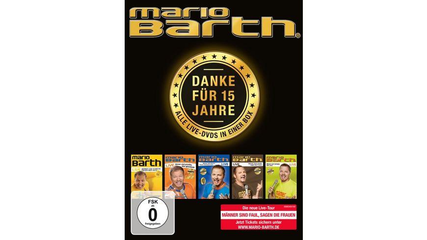 Danke fuer 15 Jahre Die Box Alle 5 Live DVDs in
