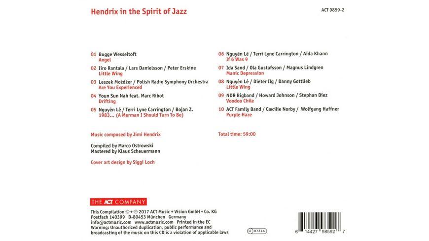 Hendrix In The Spirit Of Jazz