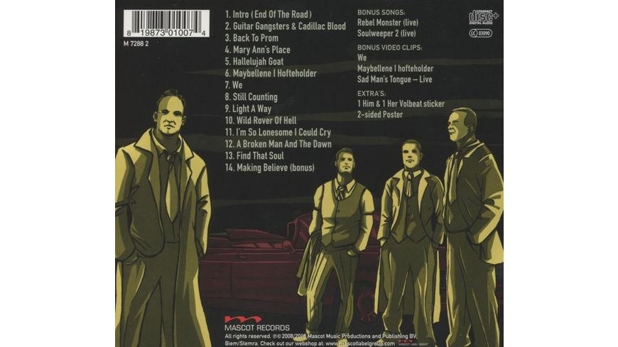 Guitar Gangsters Cadillac Blood Ltd