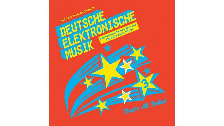 Deutsche Elektronische Musik 3 1971 1981