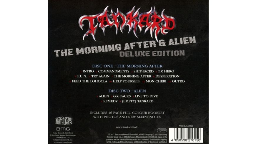 The Morning After Alien E P Deluxe Edition