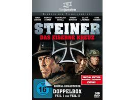 Steiner 1 2 Das Eiserne Kreuz 2 DVDs