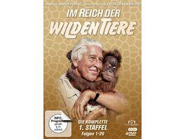 Im Reich der wilden Tiere Die kompl 1 St Folgen 1 26 4 DVDs
