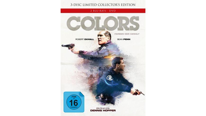Colors Farben der Gewalt Limited Collector s Edition im Mediabook DVD 2 BRs