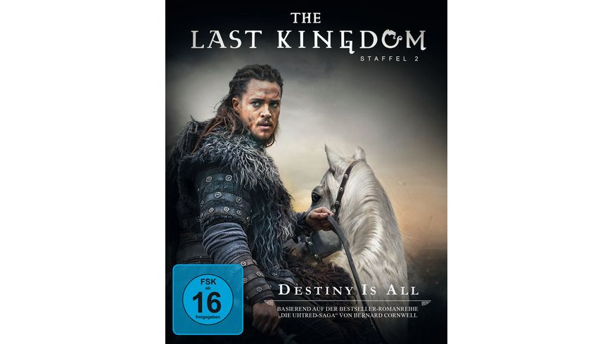 The Last Kingdom Staffel 2 Softbox 4 DVDs