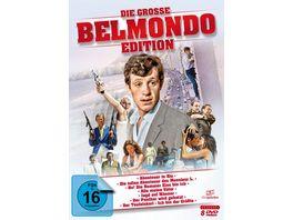 Die grosse Belmondo Edition 8 DVDs