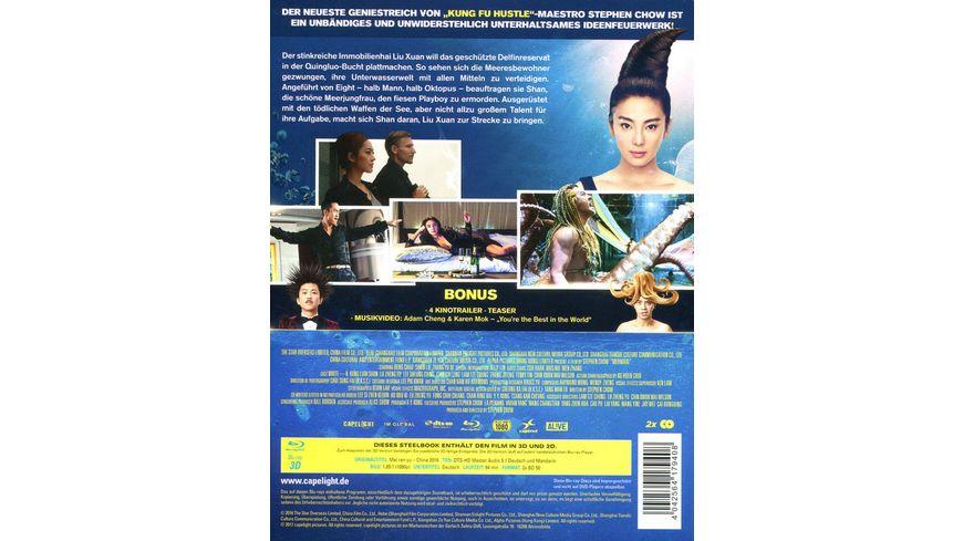 The Mermaid Limitiertes Steelbook Blu ray 2D