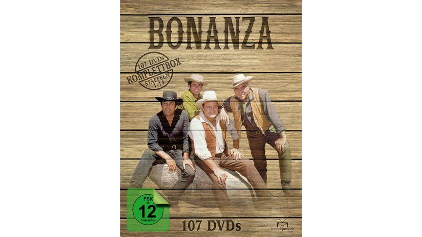 Bonanza Komplettbox Staffel 1 14 107 DVDs