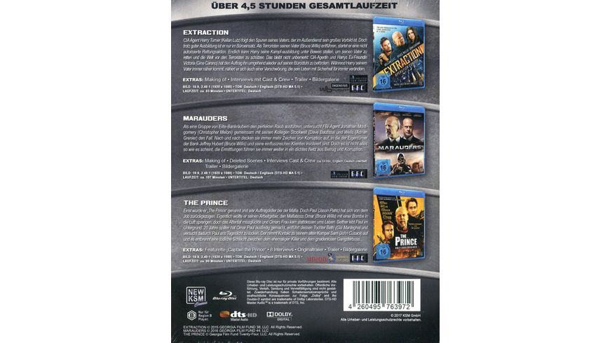 Action Heroes Bruce Willis Edition Limited Edition 3 BRs