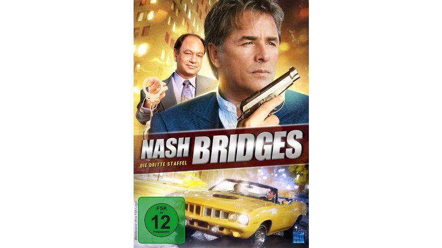 Nash Bridges Die dritte Staffel 6 DVDs