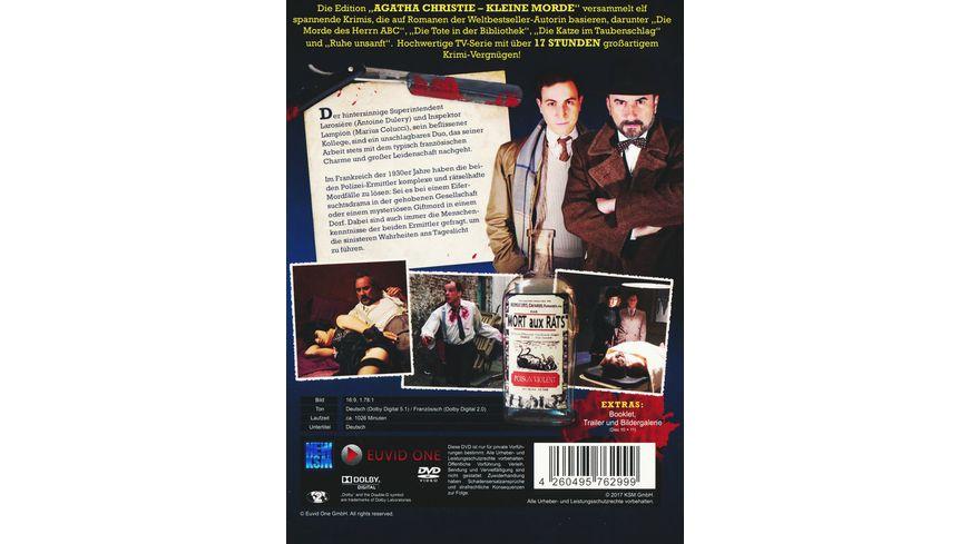 Agatha Christie Kleine Morde Die komplette 1 Staffel 11 DVDs