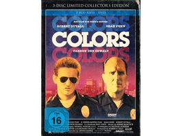 Colors Farben der Gewalt Limited Collector s Edition im Mediabook DVD 2 BRs