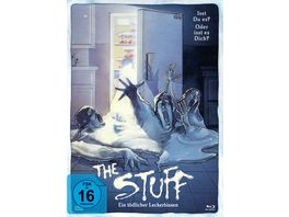 The Stuff Ein toedlicher Leckerbissen Uncut Limited Mediabook DVD