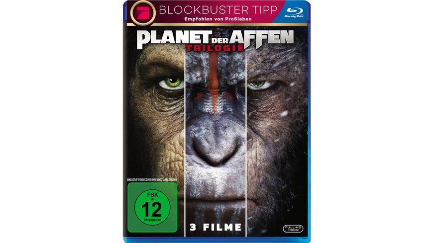 Planet der Affen Triologie 3 BRs