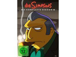 Die Simpsons Season 18 4 DVDs