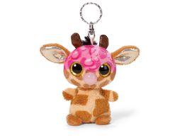 NICI Schluesselanhaenger NICIdoos Giraffe Neenee Sirup Edition BeanBag 9cm