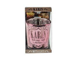 H H Metallics Kerze Karin