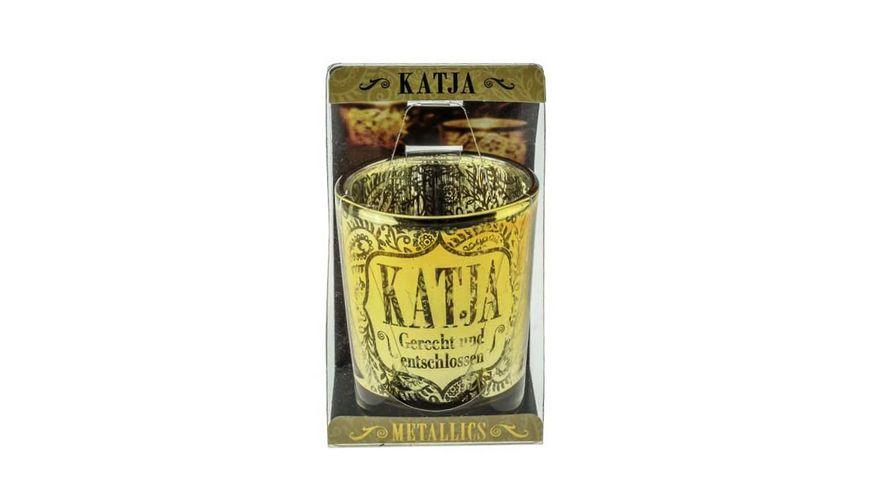 H H Metallics Kerze Katja