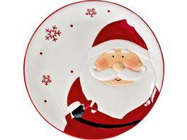 Gebaeckteller Weihnachten Santa