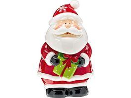 Gebaeckdose Santa Claus