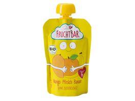 FRUCHTBAR Quetschie Mango Pfirsich Banane