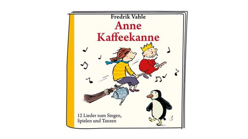 tonies Hoerfigur fuer die Toniebox Anne Kaffeekanne 12 Lieder zum Singen Spielen und Tanzen