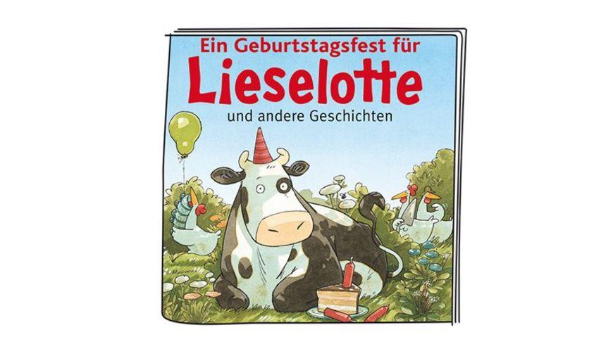 tonies Hoerfigur fuer die Toniebox Lieselotte Ein Geburtstagsfest fuer Lieselotte und andere Geschichten