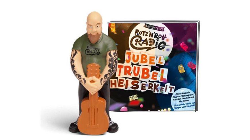 tonies Hoerfigur fuer die Toniebox Rotz N Roll Radio Jubel Trubel Heiserkeit