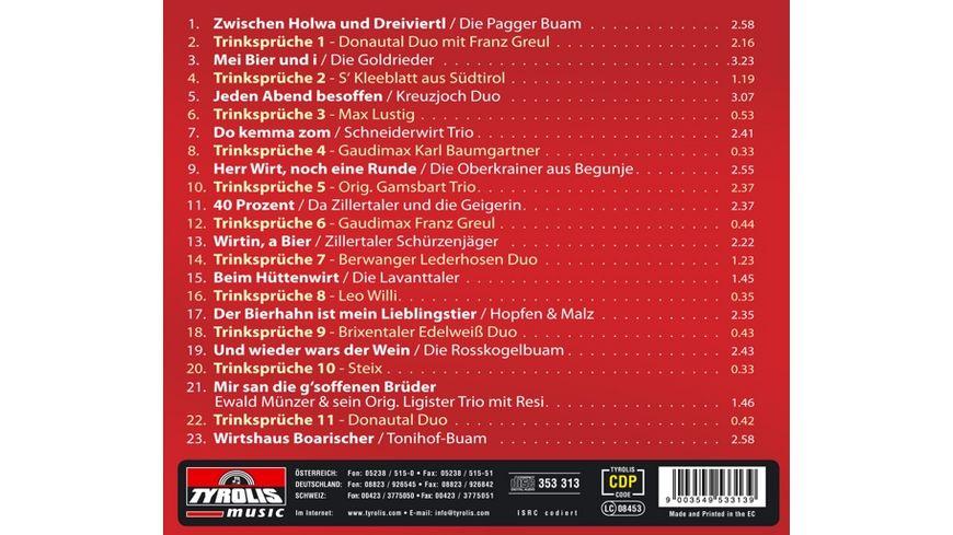 44 lustige Trinksprueche u a schneid Volksmusik