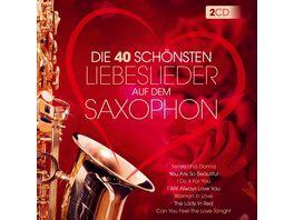 Die 40 schoensten Liebeslieder a d Saxophon Instr